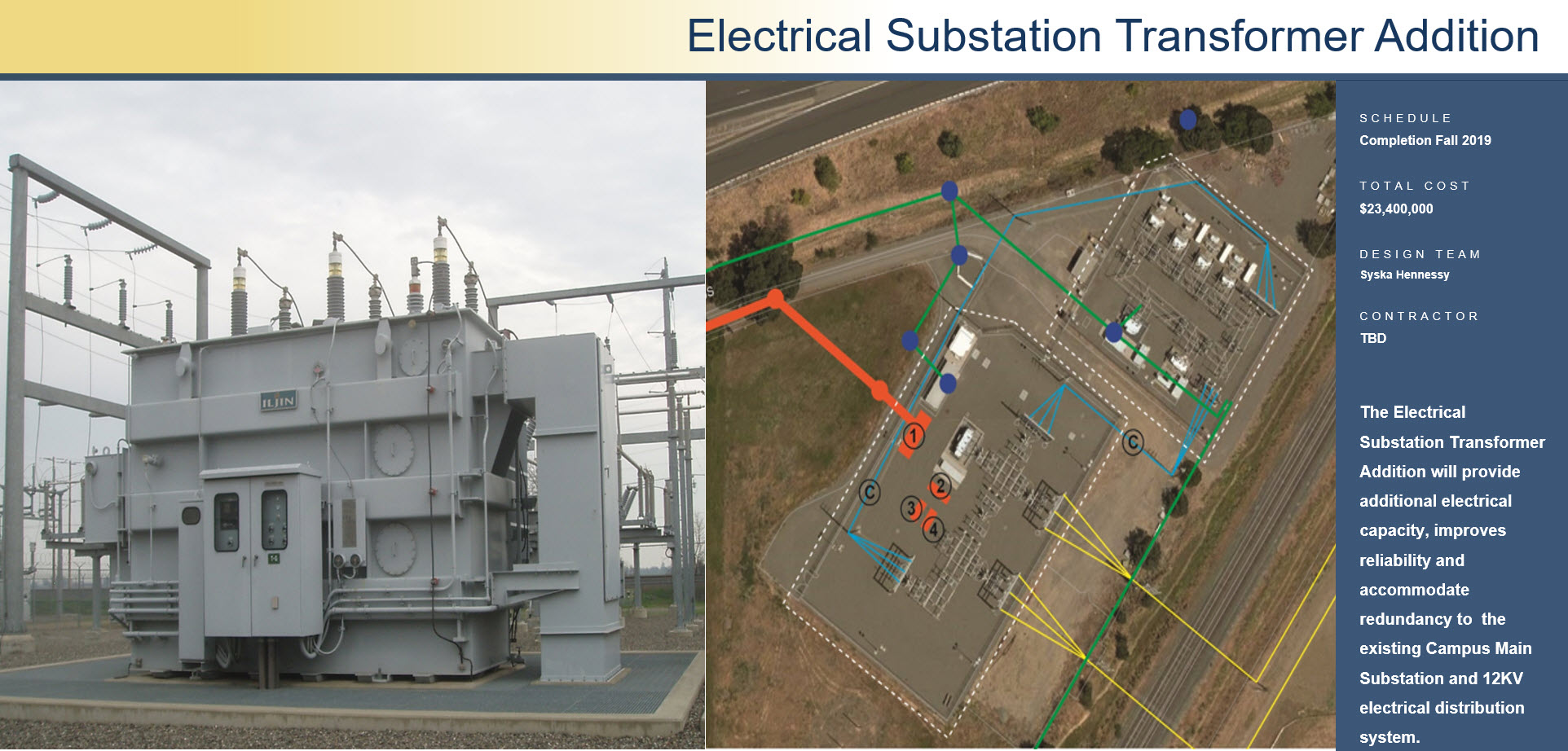 Electrical Substation Transformer Addition