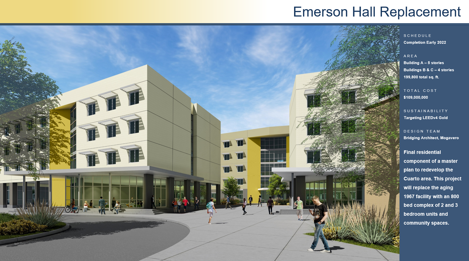Emerson Hall Replacement