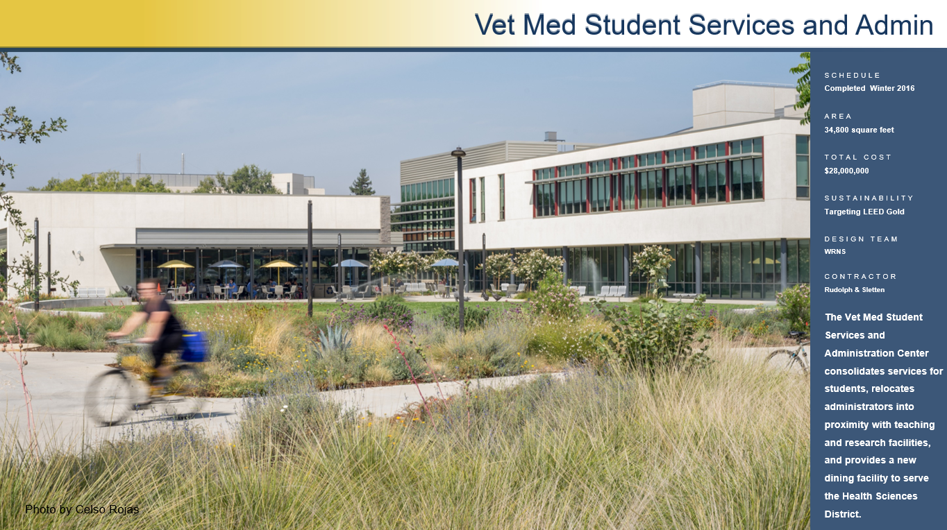 Vet Med Student Services & Admin. Center