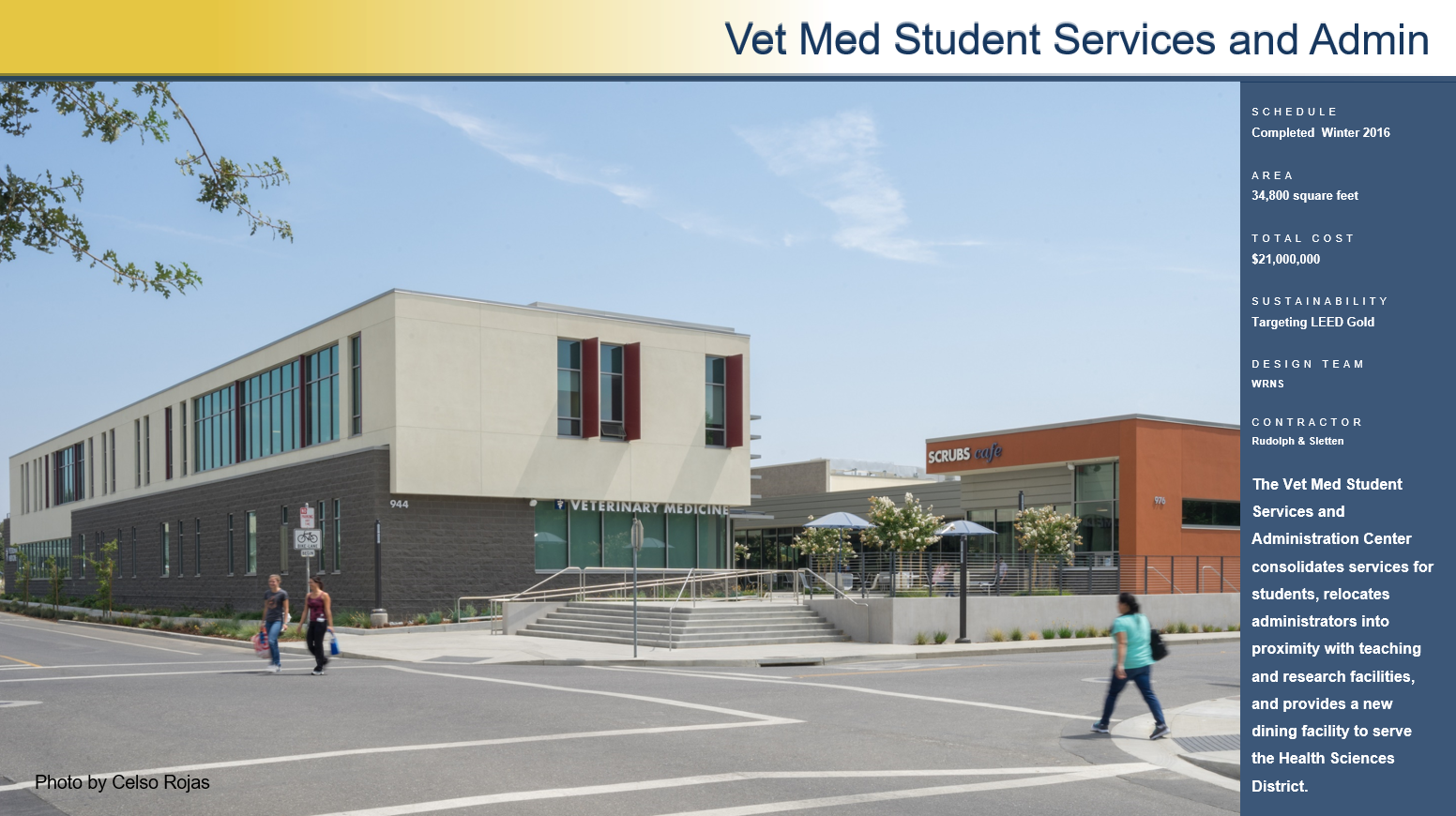 Veterinary Medical Center Master Plan