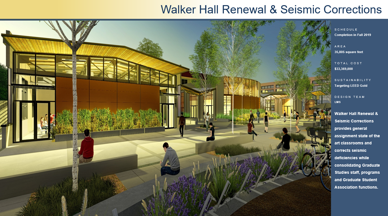 Walker Hall Renewal Seismic Corrections