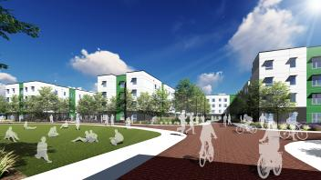 rendering of the green at west village uc davis