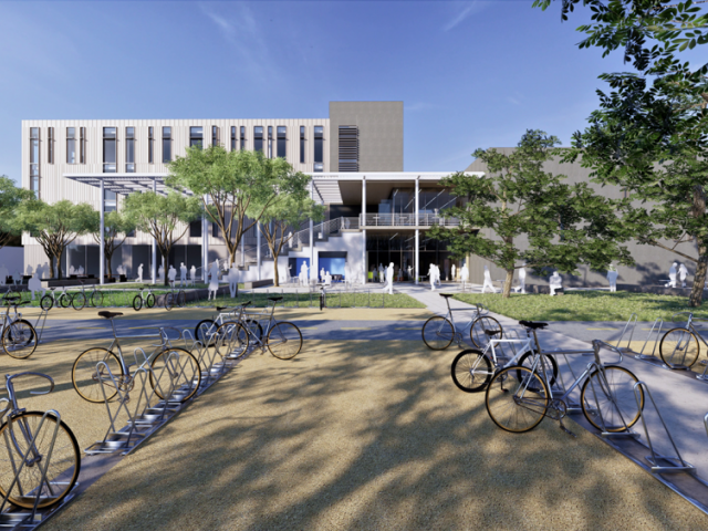 rendering of teaching and learning complex uc davis