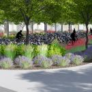 Rendering of The Green at West Village