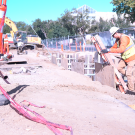 Trenching on Campus