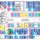 Sample office configuration plan,