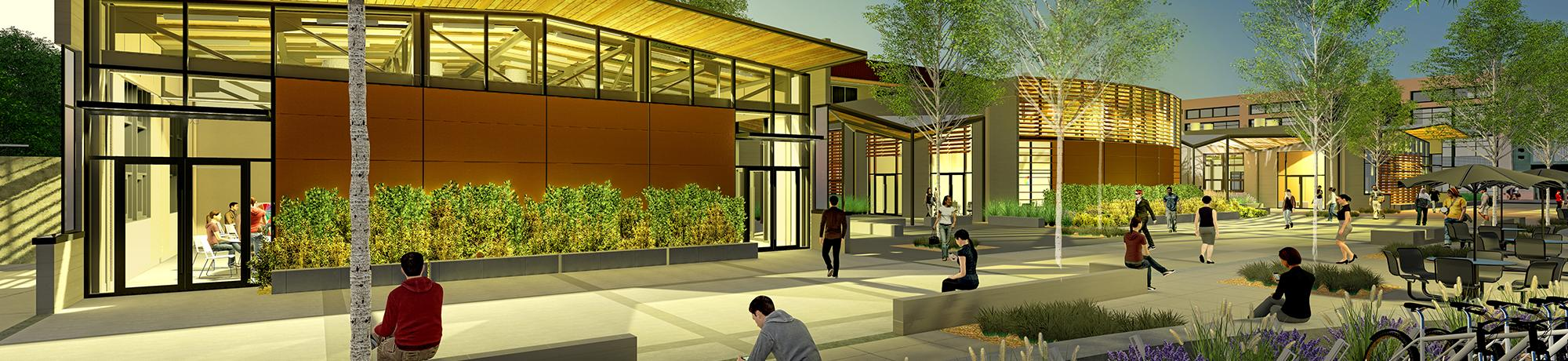 Renderings of renovated Walker Hall UC Davis